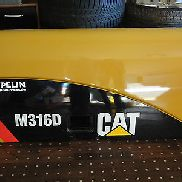 CAT CATERPILLAR M316D HOOD DOOR PANEL BONNET MOBILBAGGER