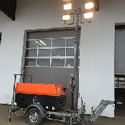 Lichtmaßt, Light Tower Atlas Copco QAX12