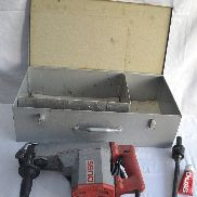 DUSS combi hammer P 60 with accessories 4 chisel and suitcase