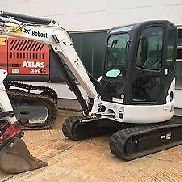 Mini excavators Compact excavators Backhoe Bobcat 430 E45 Year 2006 - 2300h TOP condition