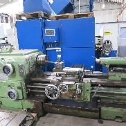 Guiding and turning lathe used!