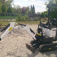 Bobcat mini excavators E10 BJ 2016 Schnellwechsler + 3 spoon condition with warranty