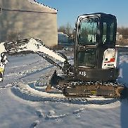Bobcat mini excavators E26 BJ2015 Visually and technically good 650Bh