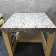 Measuring plate, measuring test bench with anti-vibration system granite 80x80x7cm
