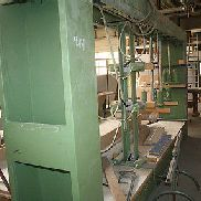 Case Press, Fabr. Wemhöner, Type HW 7/166, hardly in use, very good condition