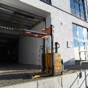 Electric pallet truck Jungheinrich / MIC lifting height 1600 mm Battery 2012