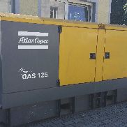 Power generator, power unit ATLAS COPCO QAS 125, year 2008 Bh.5305