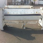 Folding bench Schröder AKV 2m -2mm folding machine good condition with bill