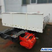 Base support frame, Werner winch S70 tipper platform Mercedes-Benz Unimog 6x6