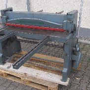Plate Shear Guillotine Shears Reinhard