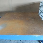 Marking - Straightening or welding plate 2000 x 2000 approx. 2.1 to