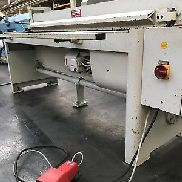 Plate shears Schröder MHSU elektr 2m to 3mm year 2000 with invoice