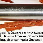 "Grinding spindle stock Müller pace TS 50 good used to. ""MINT"""