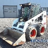 Bobcat 753 * Year of manufacture 1999 * 2223kg * central grease lubricator * skid loader wheel loader Gehl