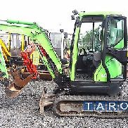 Kubota U25-3 * year of construction * 2787 hrs * quick coupler + 2 hrs * minibagger