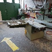 Sliding table saw SCM SI 150 with 45 ° 1500 mm slide with accessories