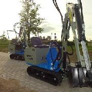 NEW NEW NEW ... Not brewed ... 7950 € incl.VAT incl. Minibagger Excavator yard loader