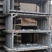 Used steel scaffolding Hünnebeck approximately 520m²