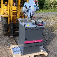 Crosscut saw MEP model Cobra with stop, pneumatic vices and motor brake