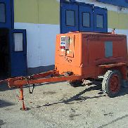 Mobile emergency power unit, diesel unit, 50 KVA, IFA 4Cyl. Diesel 48 kW