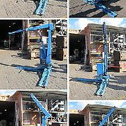 electro-hydraulic crane truck mounted crane Truck car - trailer prop Power line..