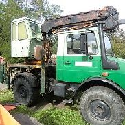 Klaus excavators Telescopic for Unimog Well excavators New parts