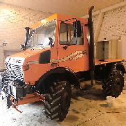 Unimog U1600 Municipal Hochdach view many new parts super features !!