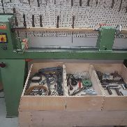Hager HD 48 lathe lathe wood lathe with very much accessories