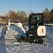 Bobcat mini excavators E19 BJ2017 Top Amenities Mint