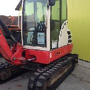 Mini excavator Terex TC48 Year: 2007, UVV new, Bh: 6,978, rubber tracks new + Turas