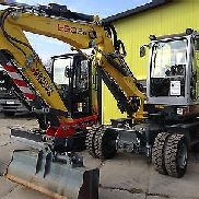 Mobile excavator Wacker Neuson 6503-2 Bj.2015 - Bh.200 h Demonstration