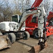 Wheel excavator Terex HML32 Identical TW85 incl bucket and quick fit