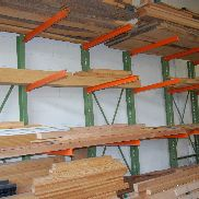 Cantilever rack without contents very good condition for sale