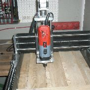 CNC milling machine incl. Kress-Spindl stepping motors and control