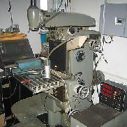 Milling machine, brand cap, type FP2, built about 1973 with digital display