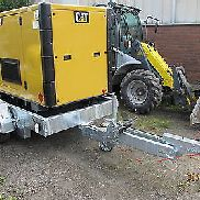 Rental Generator Stromerzeuger Caterpillar Cat 80 KVA 64 KW or purchase