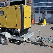 507-17: Generator Power Generator Caterpillar GEP 33-4 built 2011 trailer 33 KVA