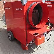 604-17: tent heating Jumbo 150 TC with 174 KW hot air heating oil heating 10500 m³ / h