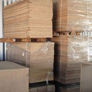 1 pallet 1,95 x 0,725m - 30mm chipboard wood panel flooring boards wood panels