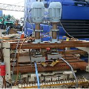 Dowel hole boring machine / multi-spindle drilling machine VEB Johnsdorf Dübe / BX-2 - DDR