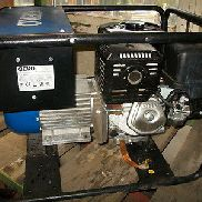 Original HONDA GX 390 GEKO NOTSTROMER GENERATOR MOTOR as NEW