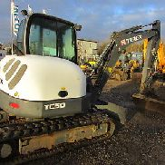 Mini digger Terex TC 50 long stem!