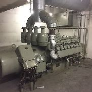 Electricity generation plant 3 x 535 KVA power generator emergency generator