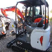 Bobcat E 17 Year of manufacture 2016, 10 h
