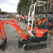 Kubota K008-3 Year of manufacture 2012, 2115 h