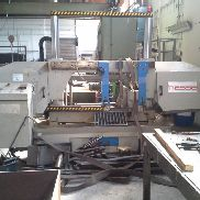 2 column guided band saw machine hesse ALF 560 DG, year of construction 2007