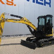 Yanmar mini excavators Vio 57 U, BJ. 2015, 1050 hrs (5819)