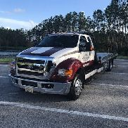 Ford F650 Flatbed Cummins / Allison ONLY 8000 MILES