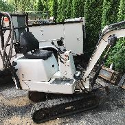 Electric Mini excavator bobcat that was converted 10 hp 480 volt