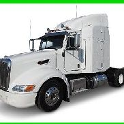 2013 Peterbilt 386 Used Sleeper Truck. Cummins Engine. Lease Maintained.